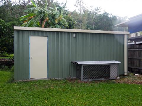 Backyard storage solution