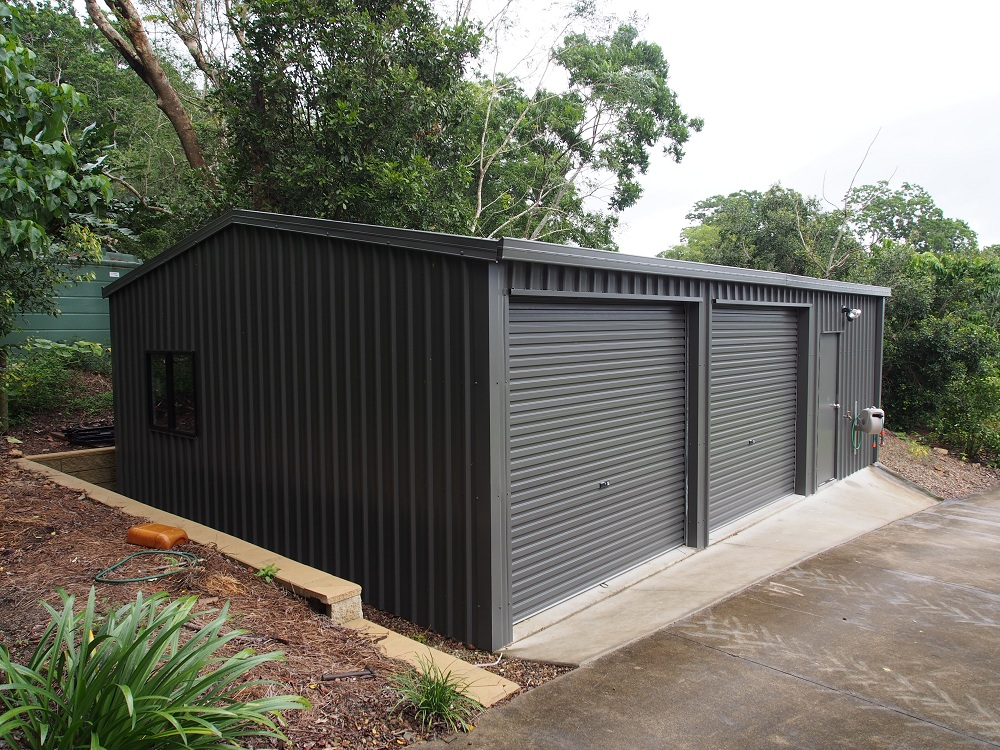 Visit our sheds garages gallery for Garden shed with roller door