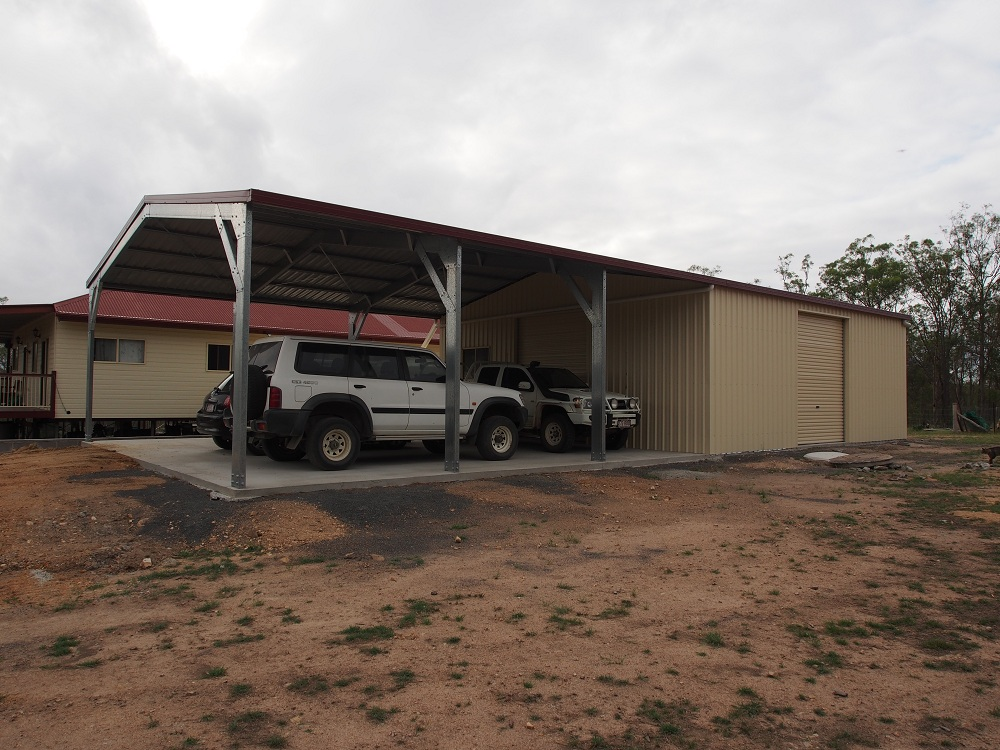 Visit our sheds garages gallery for Carports with sides